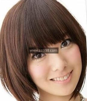 波波头烫发发型图片图片大全 2013春季流行波波头发型 烫发