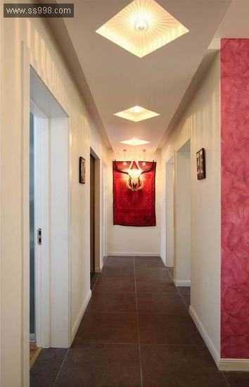 现代时尚4室2厅装修方案