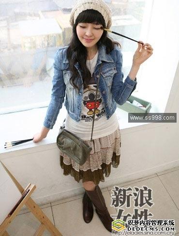 大学女生服装搭配_大学女生服饰(2)服装搭配www.ss998.com_998时尚网