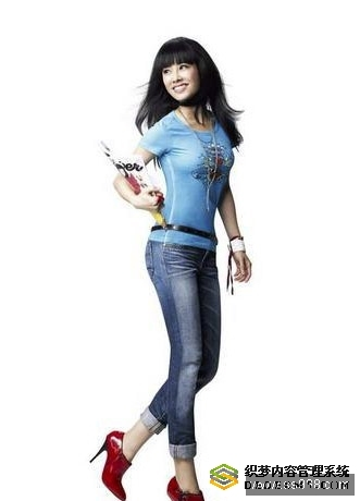 蔡依林代言Levis 女式牛仔裤
