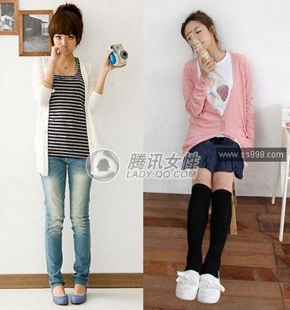 推荐09夏季女学生服装搭配 夏季服装