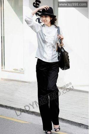 白领穿衣打扮