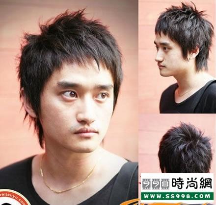 推荐男生短发发型设计 16