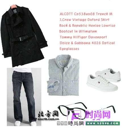冬季男青年服装搭配图库 男青年穿衣搭配 服装搭配欧美风格男