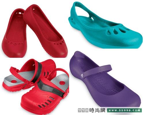crocs塑胶凉鞋