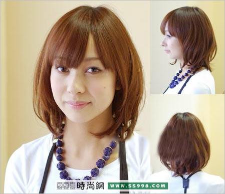 09年春夏最流行的中长发发型