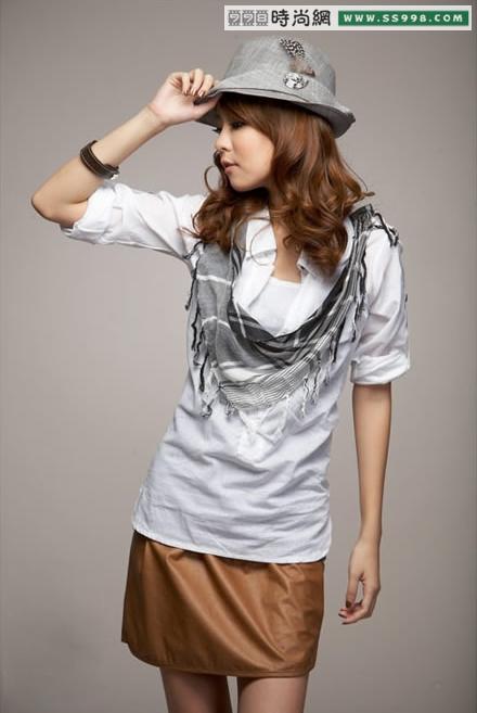 台湾女生冬季服装搭配