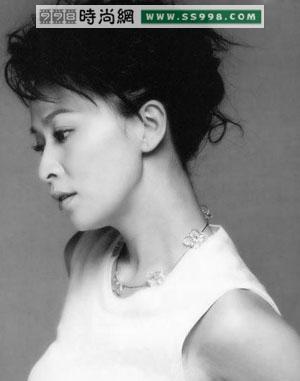 成熟美女刘嘉玲年青发型图片