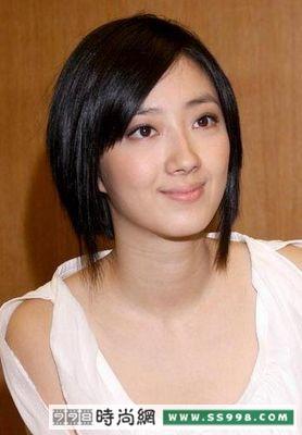桂纶镁短发图片_桂纶镁发型短发也72变5