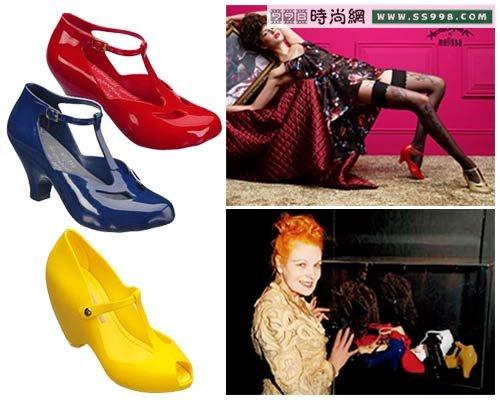 鞋子品牌melissa成为潮流典范