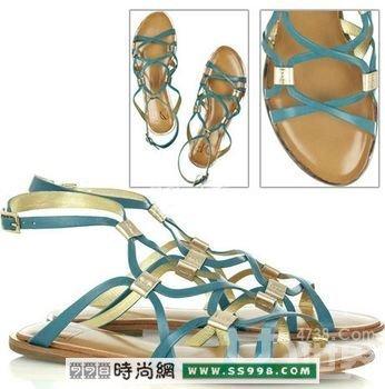 波西米亚风格凉鞋