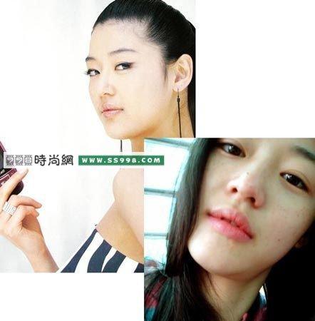 韩国女明星素颜照(2)
