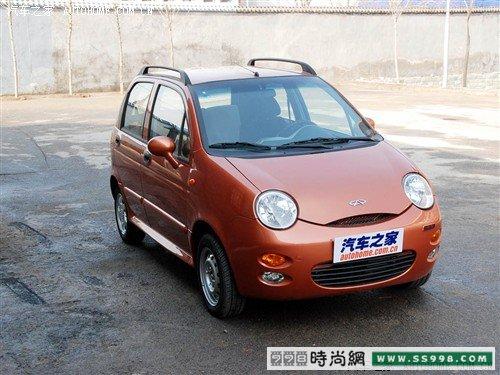 奇瑞QQ三款新车型价格高清图片