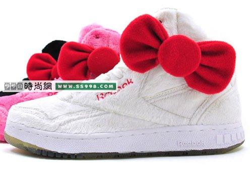 kitty蝴蝶结运动鞋
