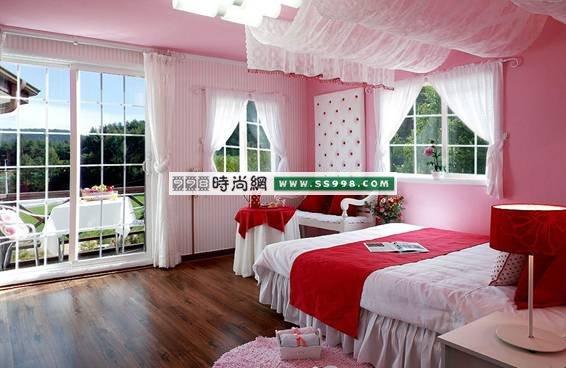 组图 卧室装修全都 完美色彩之家 打造甜蜜浪漫的韩国公主