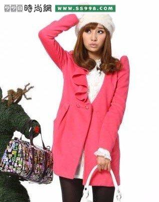 推荐冬季女性甜美服装搭配图片冬季服装