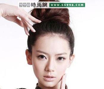 戚薇短发:圆脸,发型,长发都有(5)大短发适合什么图片不烫发型盘发图片