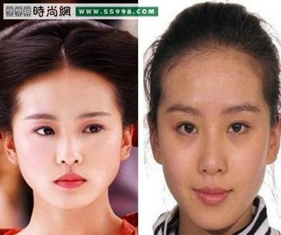 中国女明星素颜照片图片大全 明星素颜照