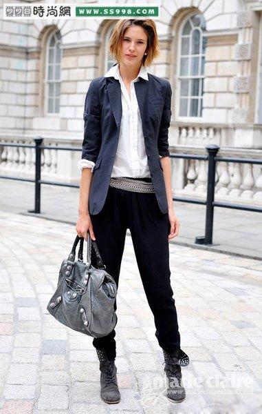 推荐西装不同风格的搭配方案服装搭配