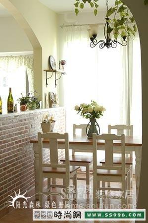 4室2厅的88平米如何装修出田园风格