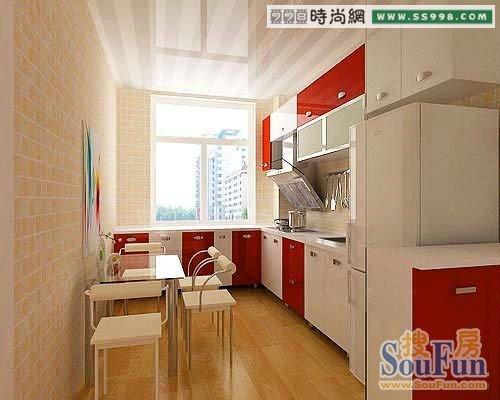 厨房装修效果图厨房灶台装修效果图 (310 * 455) 另外在厨