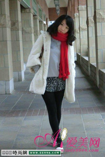 推荐冬季短裤的时尚搭配方法冬季服装图片