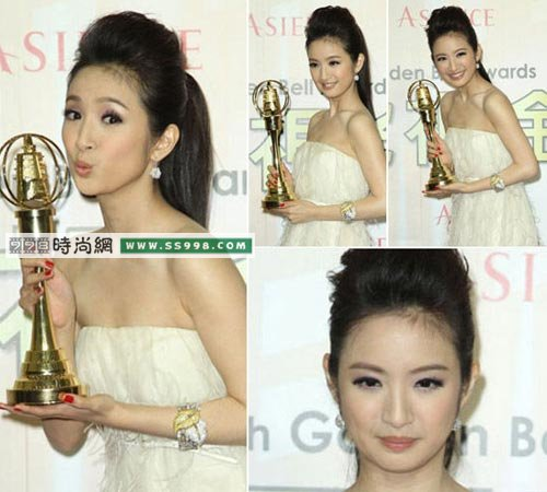 夺金钟奖影后 林依晨轻熟妆化妆www.ss998.com