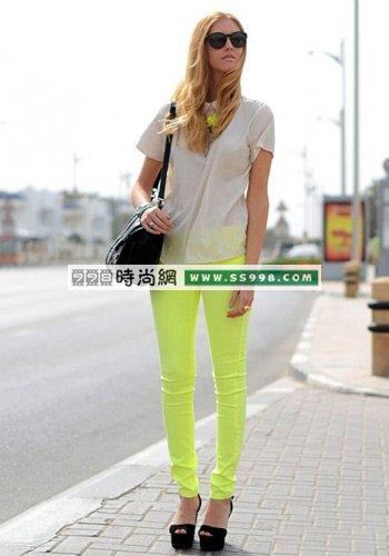 夏季服装色彩搭配图片(2)