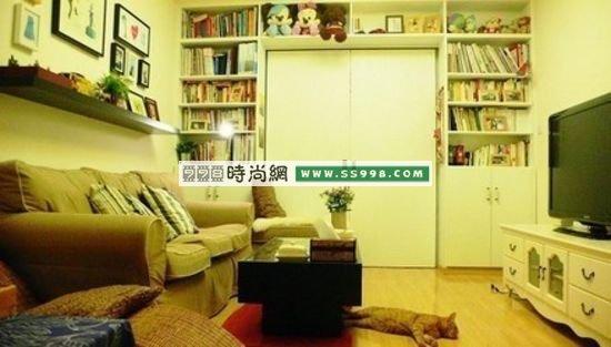 小户型设计 35平一室一厅装修案例装修方案www.ss998.com