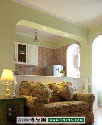 老房翻新有惊喜 80平小户型变新居装修方案www.ss998.com -老房翻新高清图片