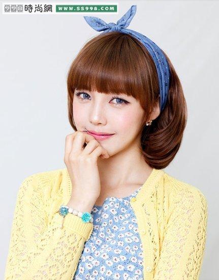 导读:韩国mm教你怎样梳明星发型