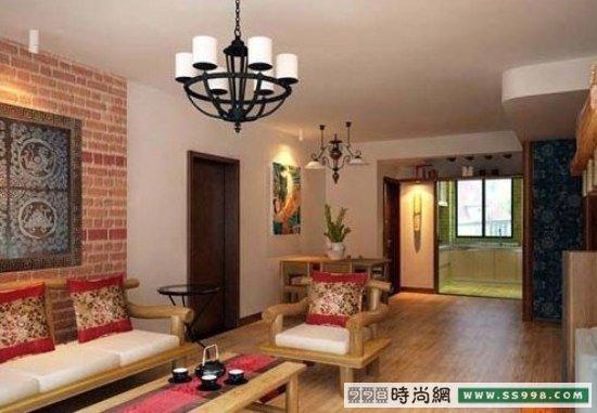 中式韵味家居 8万打造119平二室二厅装修图片