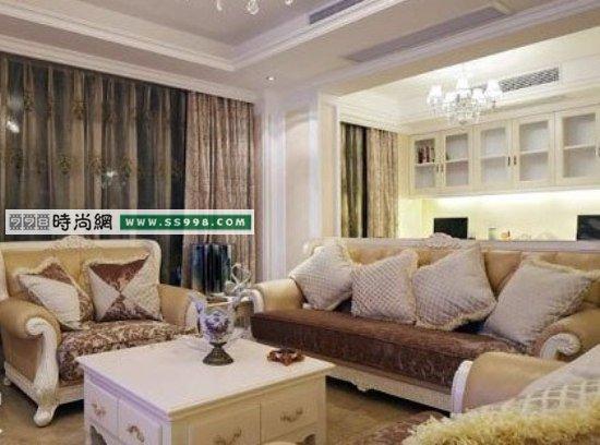 海归夫妻室内装饰 30万造140平欧式家