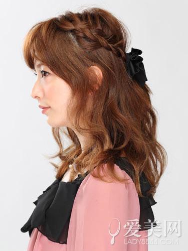 DIY 公主头编发教程时尚发型www.ss998.com