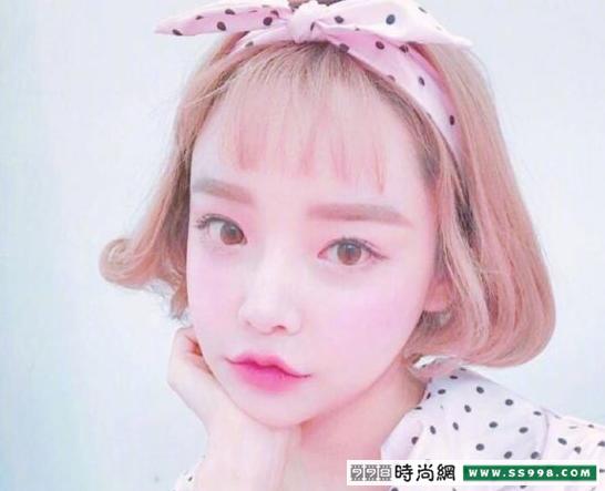 韩国发带怎么带好看图片 韩国发带的系法图解